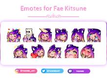 Emotes for Fae Kitsune.jpg