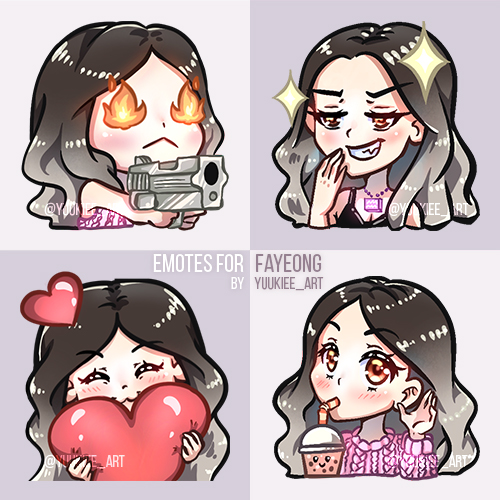 Emotes for fayeong