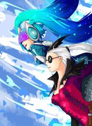DJ Sona and Aristocrat Vayne - League Of Legends