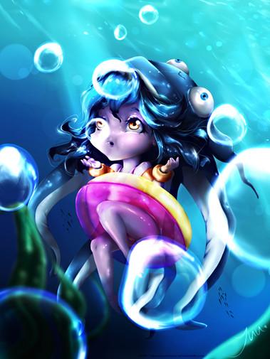 Pool Party Lulu - League Of Legends