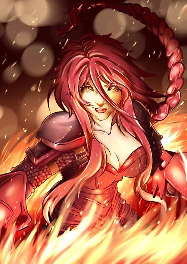 Ironscale Shyvana - League Of Legends