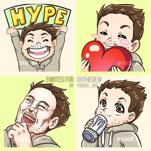Emotes for DoTheDew