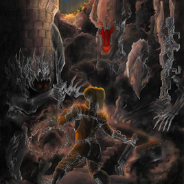 """""""Eternal Battle at the Ammocualli's Gateway"""" (Chained VII)"""