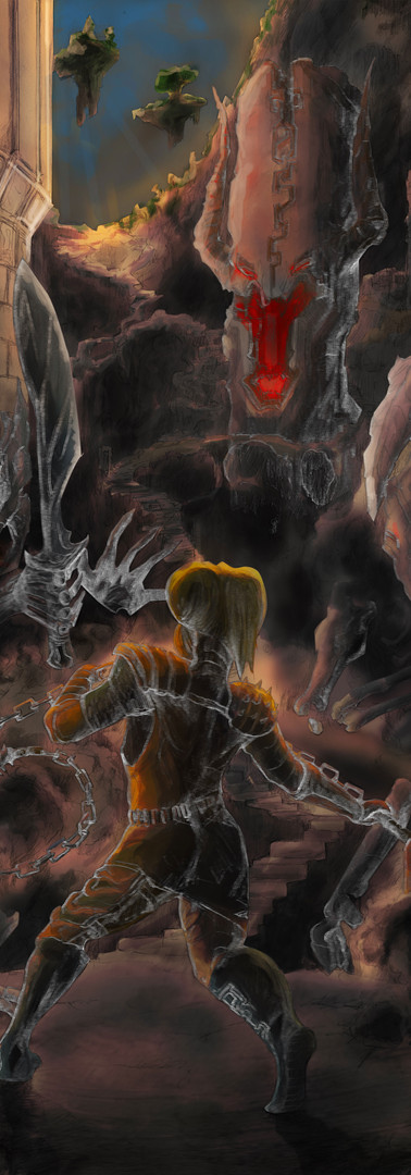 """""""Eternal Battle at the Gates of Ammocualli"""" (Chained VII)"""