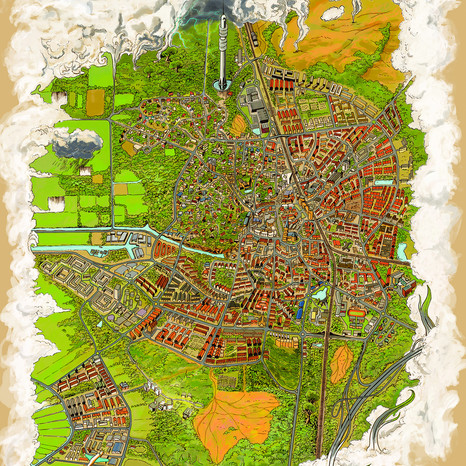 Hilversum Map