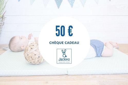 Chèque-cadeau 50€