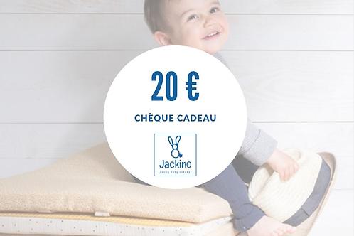 Chèque-cadeau 20€