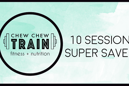 10 Session Super Saver