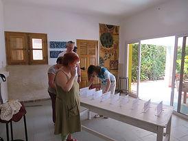 Marie-Claire Garnier, Michel Hans et Ilona Hans-Collas