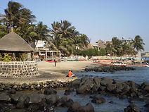 Ile de Ngor, plage