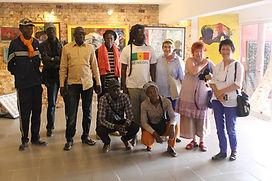 Viste chez le collectionneur et artiste Abdoulaye Diallo de l'ïle de Ngor