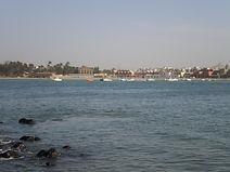 Ile de Ngor, vue vers le continent