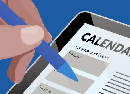 Online Scheduling Solves Calendar Challenges