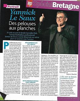 Yannick Le Saux Télé Star 26.01.2019