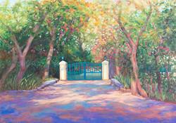 Entrance to Meherazad