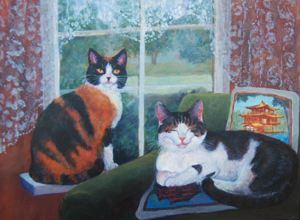 Kitties by the Window