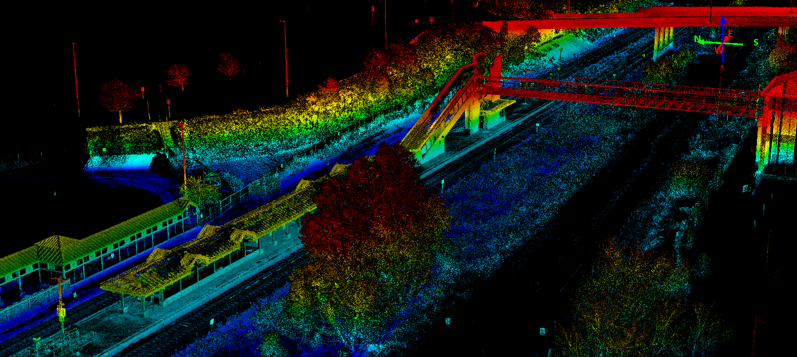 Whitby-Brock Station LiDAR Perspective
