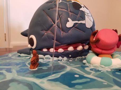 It's a whale!