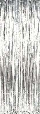 Premium Silver Foil Backdrop