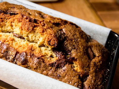 Chocolate Rosemary Loaf Cake, for a Weekend Breakfast Treat.