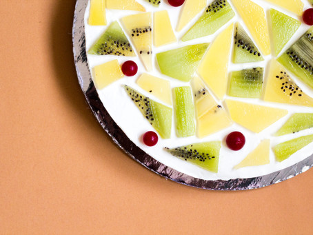 No-bake Kiwi Cheesecake