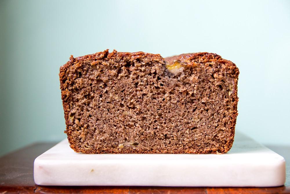 Buckwheat banana bread