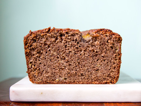 A Buckwheat Banana Bread Recipe