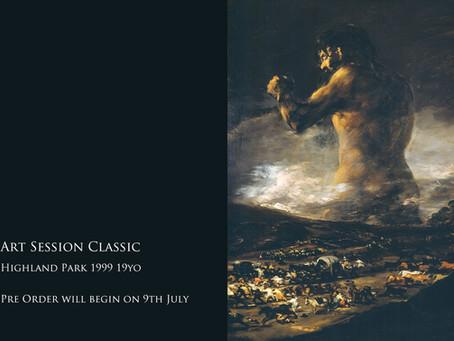 ART SESSION CLASSIC第6弾「Highland Park 1999 19yo」をリリースいたします