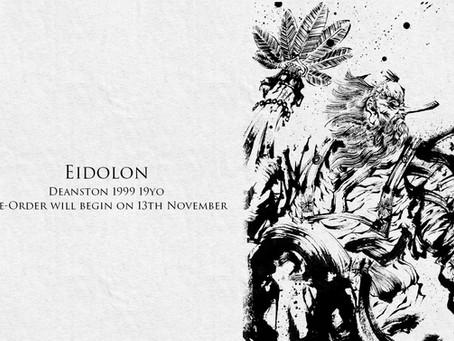 EIDOLON CLASSIC第3弾「DEANSTON 1999 19yo」11月13日正午より販売開始いたします