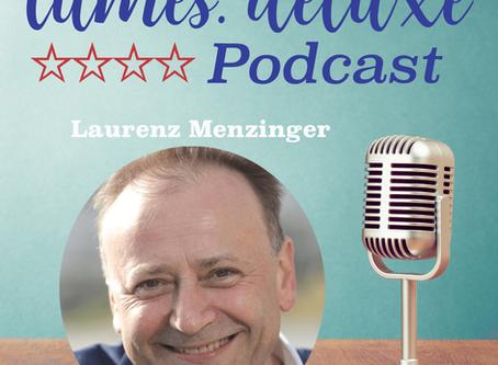 tumes.org **** deluxe Podcast #68 - Laurenz Menzinger HR Consultant and Workshop Facilitator