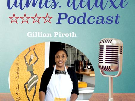 tumes.org **** deluxe Podcast #69 - Gillian Piroth - Afrikanische Speisen für Ihr Event