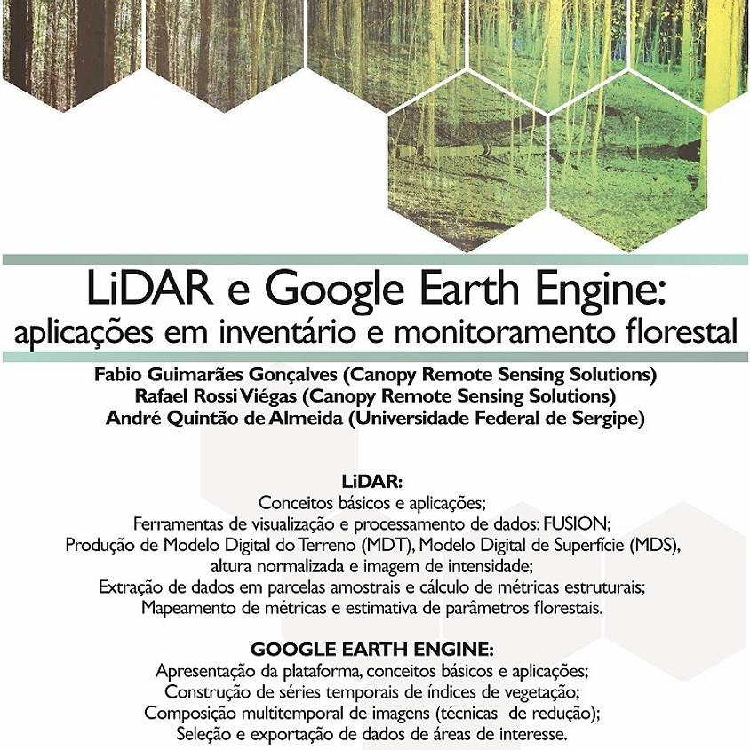 Curso - LiDAR e Google Earth Engine: aplicações em inventário e monitoramento florestal