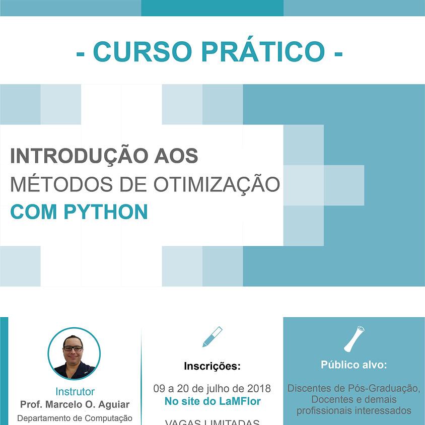 Curso: Introdução aos Métodos de Otimização com PYTHON