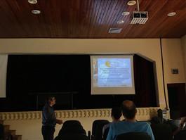 Palestra com prof. Dr. Zenobio da UFAC