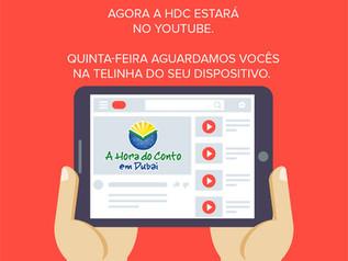 Canal da HDC no youtube