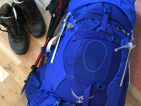 Finding the right rucksack!