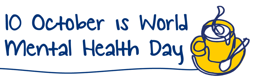 World Mental Health Day Logo from the Charity, Mind