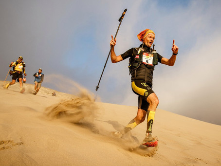 Writing a plan for the Marathon De Sables
