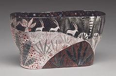Antelope Vase