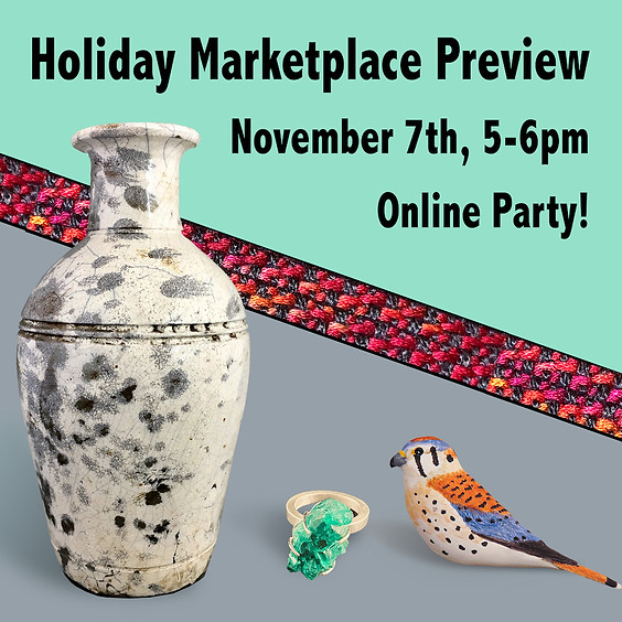Holiday Marketplace Preview Party