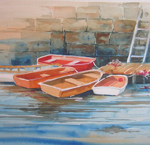 """Boats at Dock"""