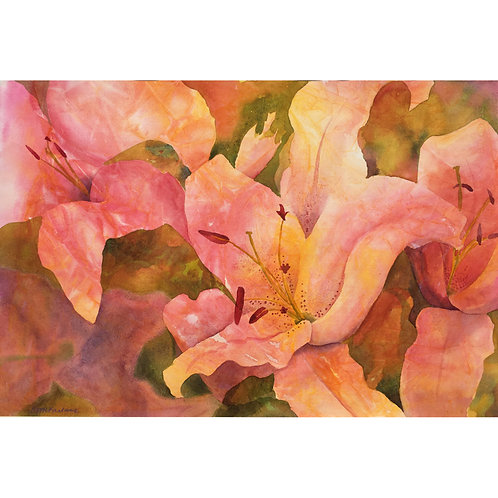 """""""Lilies in Bloom"""""""
