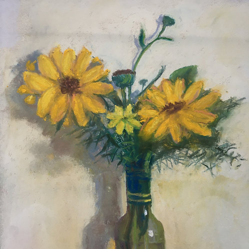 """Helianthus for the Finches"""