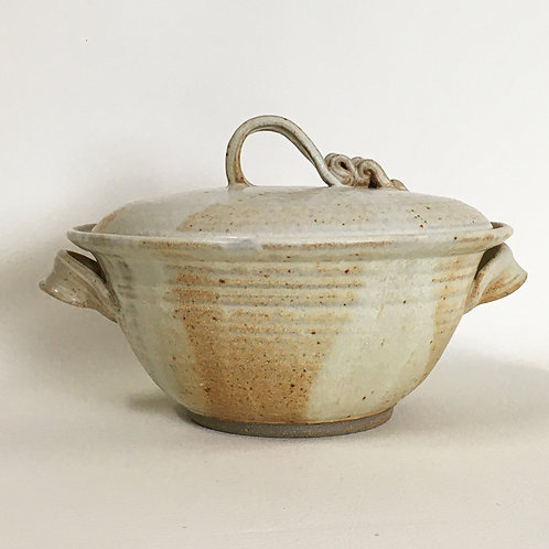 Covered Serving Bowl with Handles