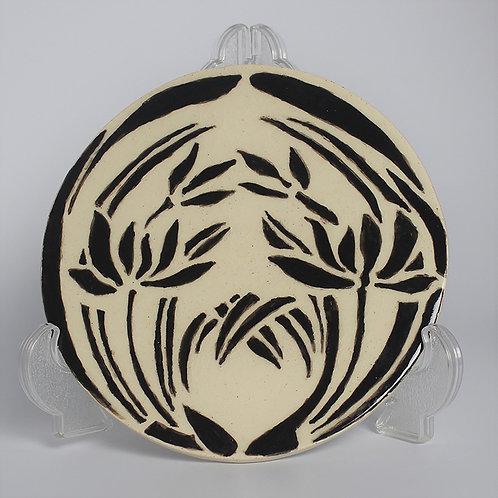 Round tile - Japanese stencil