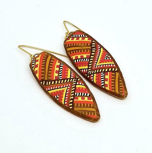 Southwest Tapestry Earrings