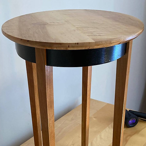 Birds Eye and Maple Bedside Table