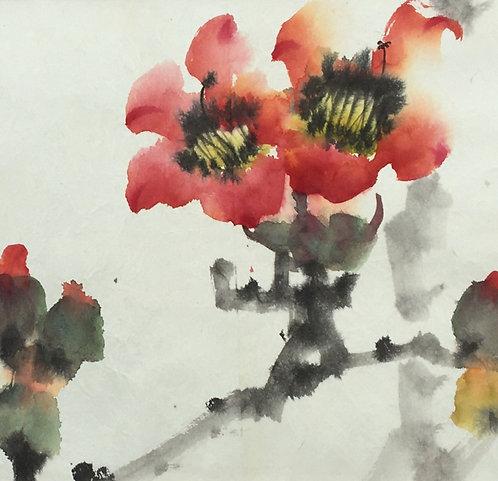"""Kapok"" Kapok blossoms telling past Hong Kong glory."