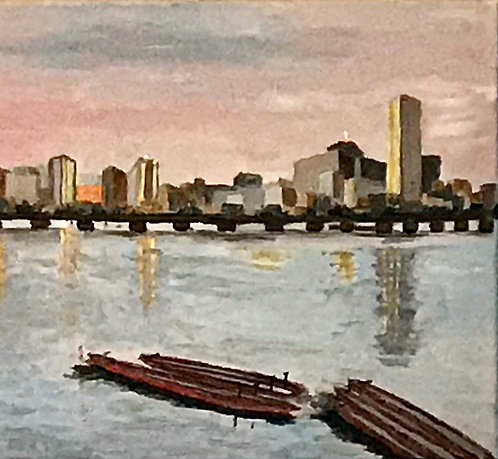 """""""Charles River View of Boston"""""""