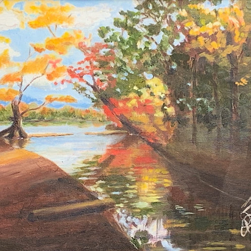 """Riverbend Autumn"""